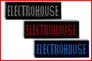 LED бейджики электронные